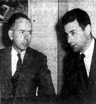Dr. William Shyne with his attorney, Richard Kaplan.