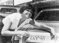 Wetumka Sucker Day '77 Queen Gail Pack