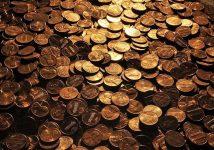 Could brand new 1902 pennies really contain gold?