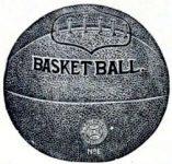 1894 Spalding Basketball