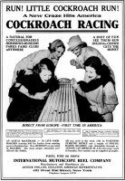 Cockroach Racing - The Billboard, May 20, 1933, page 31.
