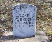 Ezra Worden's Grave