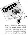 Advertisement for Hasbro's Flubber that appeared on page 18 of the March 18, 1963 publication of the Indianapolis Star.