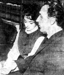 Fritz Johnson and his wife Nancy.