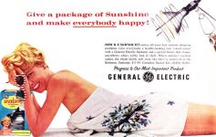 General Electric Suntan Kit 1959