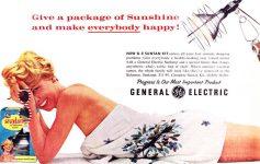 General Electric Suntan Kit 1959
