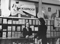 Holeproof hosiery display - July 9, 1948