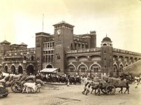 The scene of the crime. Howrah Railway Station circa 1945