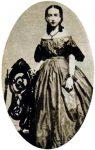 Ida Wood in the 1860s.
