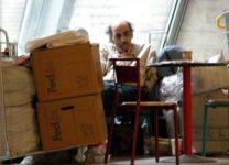 Merhan Karimi Nasseri taken at the airport in 2005.
