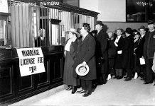 Marriage bureau c 1915-1920