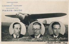 Commemorative Postcard of Yellow Bird Flight