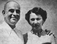Samuel Resnick and his wife.