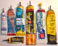 Vintage Model Glues