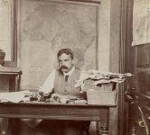 Edmund Dene Morel at his desk