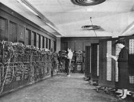 ENIAC was the first electronic computer.