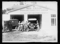 The Red Cross Emergency Ambulance station of the District of Columbia Chapter