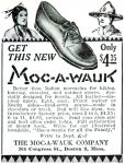 Advertisement for the Moc-A-Wauk shoe