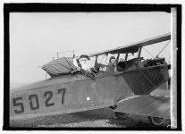 Santa Claus in an AIrplane
