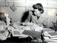 A teacher in 1946